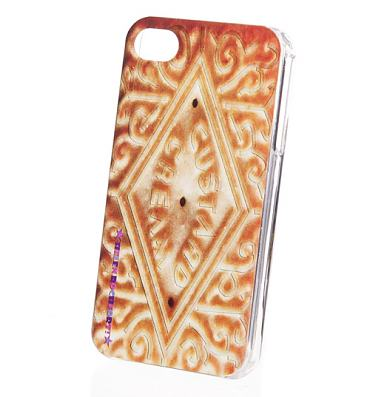 Retro Custard Cream iPhone 4 Case from Helen Rochfort