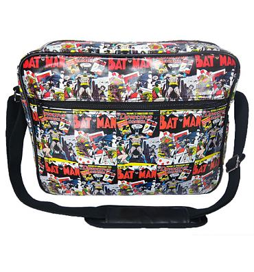 Retro DC Comics Batman Messenger Bag