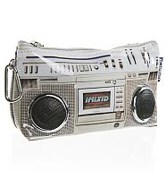 Retro Ghettoblaster Travel Wallet With Working Speakers from Fydelity