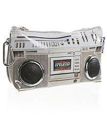 Retro Ghettoblaster Travel Wallet With Working Speakers from Fydelity [View details]