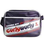 Retro Hands Off My Curly Wurly Cadburys Messenger Bag