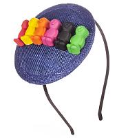 Retro Jelly Baby Fascinator from ShmooBamboo