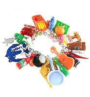 Retro Mega Gumball Junk Charm Bracelet from Punky Pins