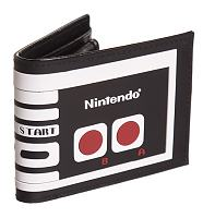 Retro Nintendo Gamer Contoller Bi-Fold Wallet