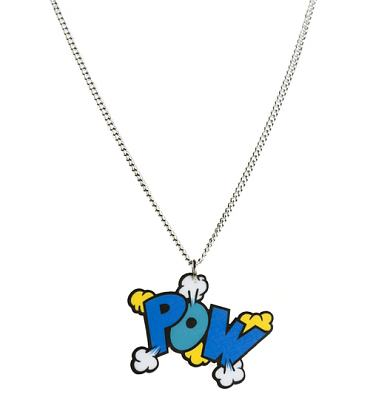 Retro Pow! Comic Explosion Necklace from Punky Pins