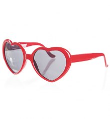 Retro Red Heart Sunglasses from Punky Pins [View details]