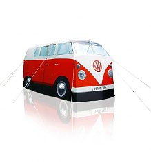 Retro Red VW Campervan Exact Scale Replica Tent [View details]