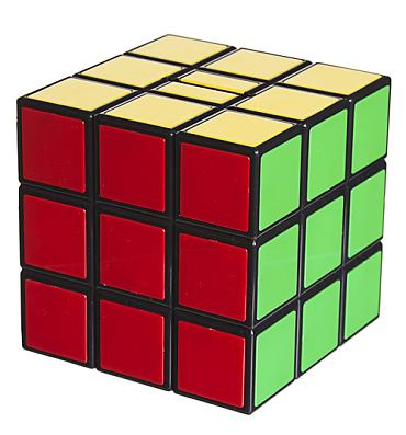 Retro Rubik's Cube Money Box