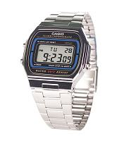 Retro Silver And Black Watch from Casio