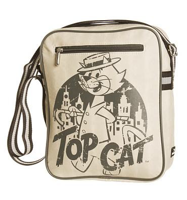 Retro Sketch Top Cat Canvas Flight Bag