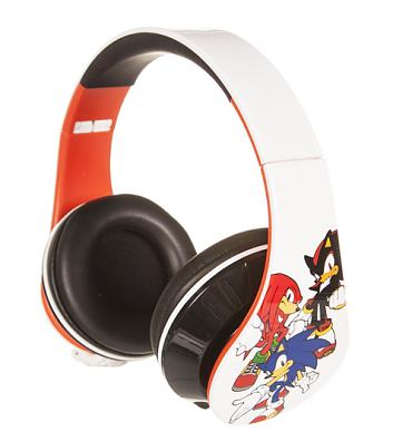 Retro Sonic The Hedgehog Characters Wrap Around Headphones