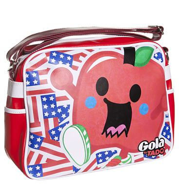 Retro Tado Big Apple Redford Messenger Bag from Gola