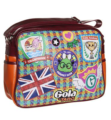 Retro Tado College Redford Messenger Bag from Gola