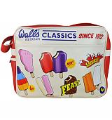 Retro Walls Ice Cream Classics Messenger Bag
