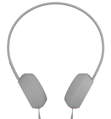 Retro White And Red Knock Headphones from Coloud