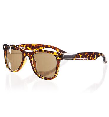 Retro Winston Wayfarer Tortoiseshell Sunglasses from Jeepers Peepers