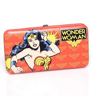 Retro Wonder Woman Hinge Wallet