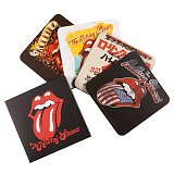 Rolling Stones Set Of 4 Coasters