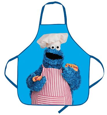 Sesame Street Cookie Monster Apron In A Tube