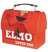 Sesame Street Elmo Tin Tote