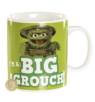 Sesame Street Oscar The Grouch Giant Mug