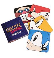 Sonic The Hedgehog Set Of 4 Coasters