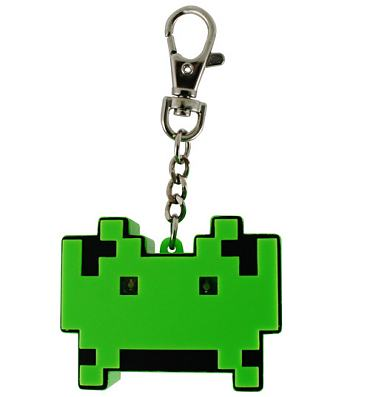 Space Invaders Keyring Torch