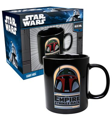 Star Wars Boba Fett Empire Strikes Back Giant Mug