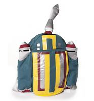 Star Wars Boba Fett Jet Pack Back Buddy Plush Back Pack