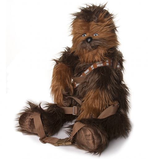 Star Wars Chewbacca Back Buddy Plush Back Pack