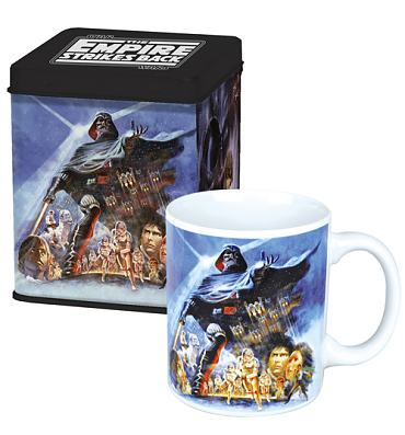 Star Wars Empire Strikes Back Mug and Tin Set