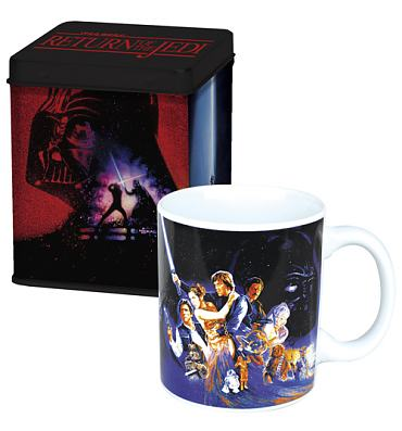 Star Wars Return Of The Jedi Mug and Tin Set