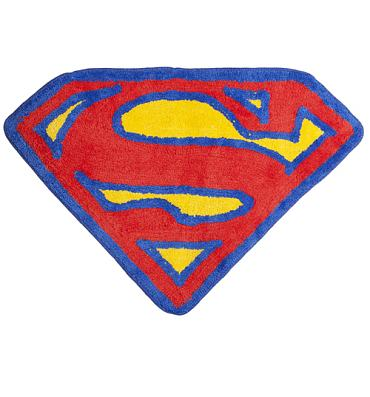 Superman Logo Bath Mat