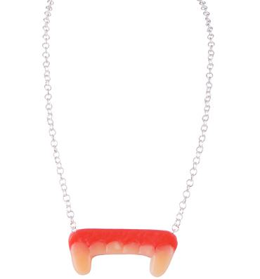 Sweetie Fangs Necklace from Girl From Blue City