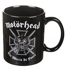 Black Motorhead The World Is Yours Mug [View details]