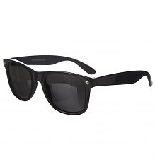Black Polarised Mirror Lens Wayfarer Sunglasses [View details]
