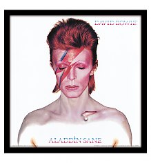 "David Bowie Aladdin Sane 12"" Album Cover Print [View details]"