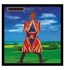 "David Bowie Earthling 12"" Album Cover Print [View details]"