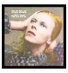 "David Bowie Hunky Dory 12"" Album Cover Print [View details]"
