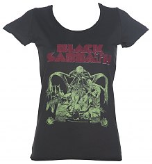 Ladies Charcoal Black Sabbath Bloody Sabbath T-Shirt from Amplified [View details]
