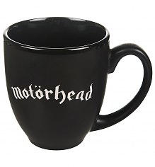 Matt Black Motorhead Engraved logo Mug [View details]