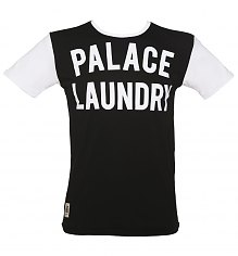 Men's Black And White Palace Laundry Mick Jagger T-Shirt from Worn By [View details]