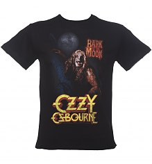 Men's Black Bark At The Moon Ozzy Osbourne T-Shirt from Amplified [View details]