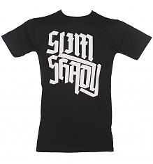 Men's Black Slim Shady Eminem T-Shirt [View details]