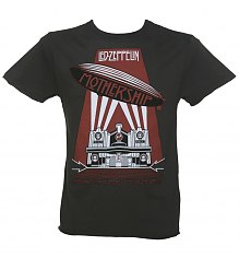 Men's Led Zeppelin Mothership Charcoal T-Shirt from Amplified [View details]
