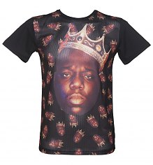 Men's Sublimation Notorious B.I.G. Airtex Panel T-Shirt from Fanpac [View details]