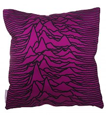 Purple Unknown Waves Cushion [View details]