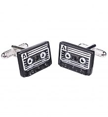 Retro Cassette Cufflinks [View details]