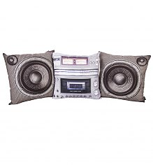 Set Of Three Boombox Cushions [View details]