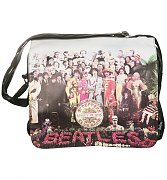 The Beatles Sgt Pepper Satchel from Disaster Designs